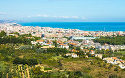 Pejzaż miejski Pescara w Włochy Obrazy Stock