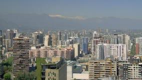 Pejzaż miejski Santiago De Chile zdjęcie wideo