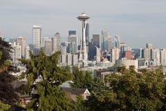 pejzaż miejski Seattle zdjęcia stock