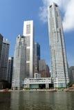 pejzaż miejski Singapore Zdjęcia Stock
