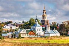 Pejzaż miejski Suzdal Rosja Obrazy Royalty Free