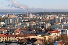 pejzaż miejski Tampere obraz royalty free