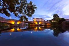Pejzaż miejski Trebinje, Bośnia i Herzegovina - obrazy royalty free