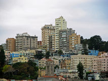 Pejzaż miejski w San Fransisco Zdjęcia Royalty Free