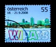 Pejzaż miejski, WIPA 2008 powystawowy seria około 2008, Zdjęcie Royalty Free