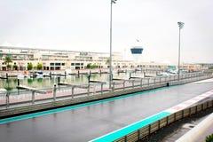 Pejzażu miejskiego widok w Dubai fotografia stock