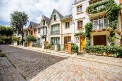 Pejzażu miejskiego widok w Paryż Zdjęcia Stock