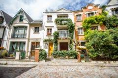 Pejzażu miejskiego widok w Paryż Zdjęcie Stock