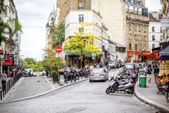 Pejzażu miejskiego widok w Paryż Obraz Stock