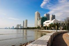pejzażu nadbrzeże komunalnych zdjęcia royalty free