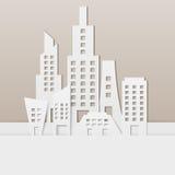 Pejzaż miejski Ilustracja Wektor