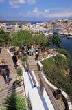 Pejzaż miejski Agios Nikolaos Crete Grecja Fotografia Royalty Free
