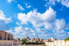 Pejzaż miejski Aleksandria w Egipt Fotografia Royalty Free