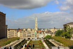 Pejzaż miejski Bruksela, Belgia Obrazy Royalty Free