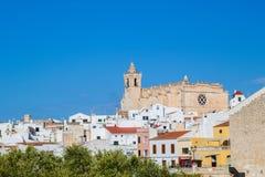 Pejzaż miejski Ciutadella stary miasteczko Zdjęcie Royalty Free