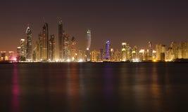 pejzaż miejski Dubai Zdjęcia Royalty Free