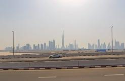 pejzaż miejski Dubai Zdjęcie Royalty Free