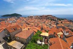pejzaż miejski Dubrovnik Fotografia Stock