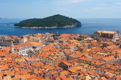 pejzaż miejski Dubrovnik Obraz Stock