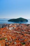 Pejzaż miejski Dubrovnik Zdjęcia Stock