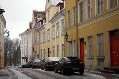 pejzaż miejski Estonia Tallinn Zdjęcia Stock