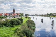 Pejzaż miejski Hasselt Holandia Obraz Royalty Free
