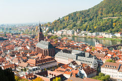 Pejzaż miejski Heidelberg, Geramny Obraz Stock
