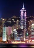 pejzaż miejski Hong kong Zdjęcie Royalty Free