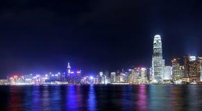 pejzaż miejski Hong kong Zdjęcia Royalty Free