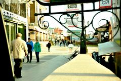 Pejzaż miejski, Irkutsk Obrazy Royalty Free
