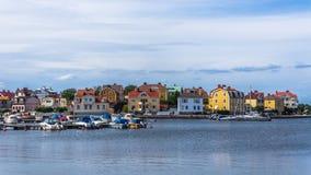 Pejzaż miejski Karlskrona Obraz Stock