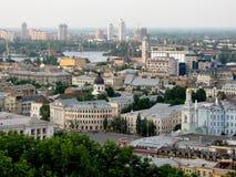 Pejzaż miejski Kijów Zdjęcia Stock