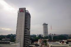 Pejzaż miejski Kuala Lumpur, Malezja Zdjęcia Stock