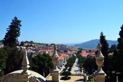 Pejzaż miejski Lamego, Portugalia Obraz Royalty Free