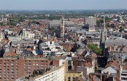 Pejzaż miejski Lille, Francja Zdjęcia Stock