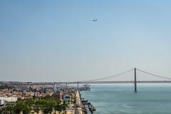 pejzaż miejski Lisbon Obrazy Royalty Free