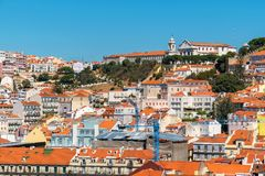 pejzaż miejski Lisbon Portugalia Obraz Stock