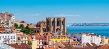 pejzaż miejski Lisbon Portugalia zdjęcia stock