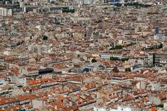Pejzaż miejski Marceille, Francja zdjęcie stock