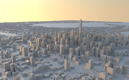 pejzaż miejski miastowi Obraz Royalty Free
