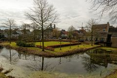Pejzaż miejski na Ravenstein w holandiach Obrazy Royalty Free