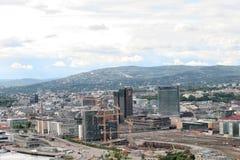 Pejzaż miejski Oslo Norway Obraz Stock