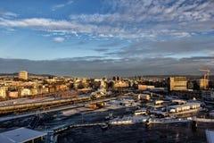 Pejzaż miejski Oslo w Norway Fotografia Stock