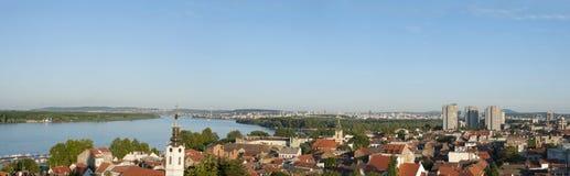 pejzaż miejski panorama Zdjęcia Royalty Free