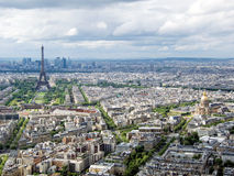 Pejzaż miejski Paryż Obraz Stock