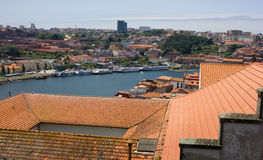 pejzaż miejski Porto Zdjęcie Stock
