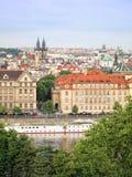 Pejzaż miejski Praga Obrazy Stock