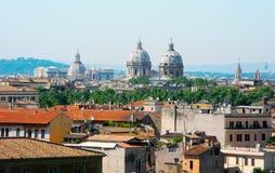 pejzaż miejski Rome obrazy royalty free