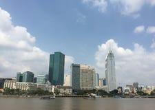 Pejzaż miejski Saigon, Wietnam Obraz Stock