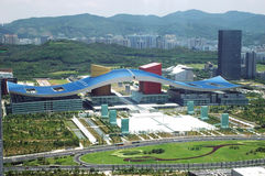 pejzaż miejski Shenzhen Fotografia Royalty Free